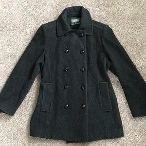 100% wool Mackintosh Women's Peacoat Coat